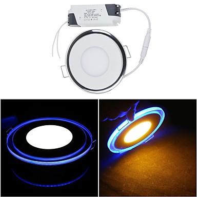 650lm Paneellampen 1 LED-kralen SMD 3528 Warm wit / Koel wit 85-265V