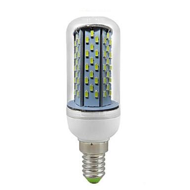 550 lm E14 LED Mais-Birnen T 120 Leds SMD 3014 Dekorativ Kühles Weiß Wechselstrom 85-265V