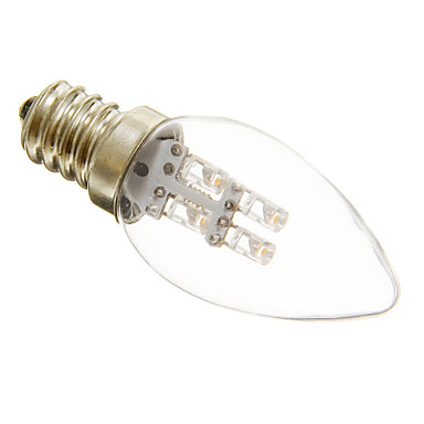 1W 15-20 lm E12 LED-lysestakepærer C35 3 leds Dekorativ Varm hvit Kjølig hvit AC 220-240V