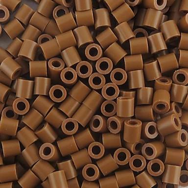 aproximativ 500pcs / cafea 5mm sac margele Perler fuziona margele margele HAMA DIY puzzle eva safty materiale pentru copii