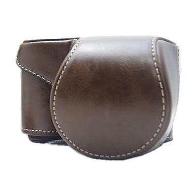 dengpin® aparat foto din piele capacul de protecție caz sac detașabil cu curea de umăr pentru Sony alfa a5000