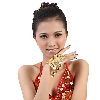 Αξεσουάρ Χορού Κοσμήματα Γυναικεία Με πούλιες Μέταλλο Κέρματα Χριστούγεννα Halloween