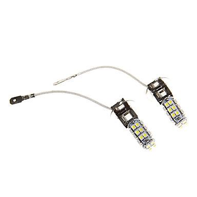 2pcs H3 Auto Leuchtbirnen SMD 3528 250lm Nebelscheinwerfer For Universal