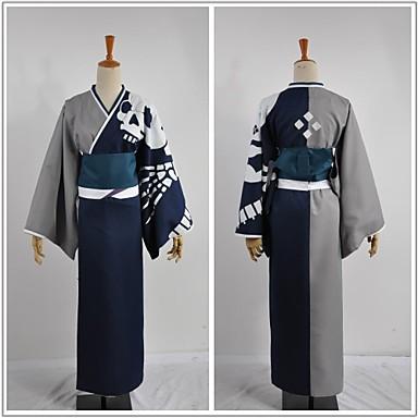 Inspirat de Cosplay Cosplay Video Joc Costume Cosplay Costume Cosplay Peteci Manșon Lung Mănuși Centură Kimono Coat