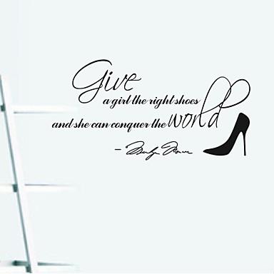 настенные наклейки наклейки для стен, Мэрилин Монро высокие каблуки ПВХ стены наклейки
