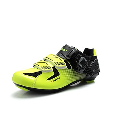 Tiebao Pantofi de Cursieră Pantofi de Ciclism Pentru bărbați Ventilație Respirabil Exterior Bicicletă șosea Piele PVC Plasă de Aerisire