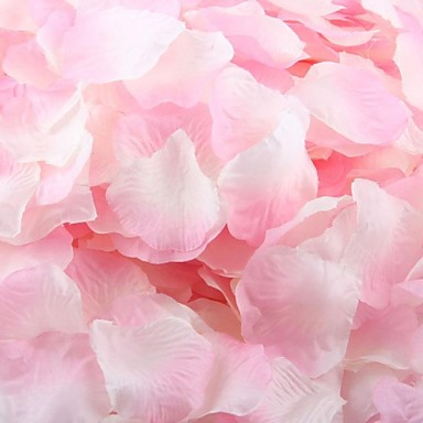 set de 100 de petale de trandafir petale de decorare masă (Color asortate)