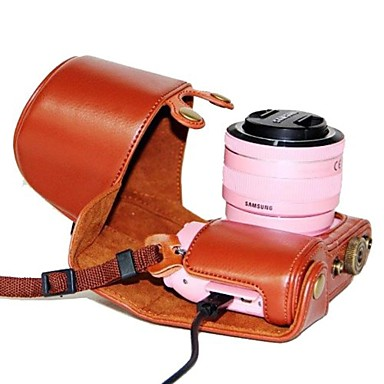 pajiatu® detașabil din piele PU de încărcare aparat de fotografiat model de caz de protecție capac sac pentru samsung nx2000