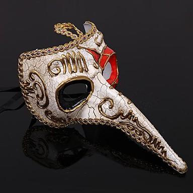 Plague Doctor Masker Heren Halloween Festival / Feestdagen Halloweenkostuums Vintage