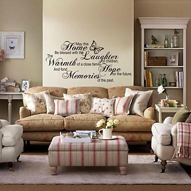 zooyoo® съемные цветные мило моды Многие персонажи стикер стены домашнего декора стен наклейки для детской комнаты