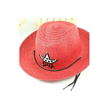 baba gyerek fiú pentagram western cowboy szalmakalap sapka 1963758 ... be6d8906c3
