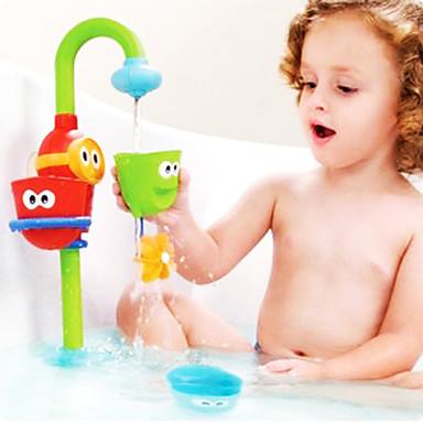 voordelige water Speeltjes-babyspel waterbad spuiten gesteund Jenga speelgoed