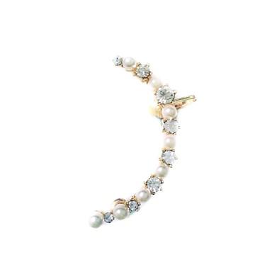 Cercei Stud La modă Perle Imitație de Perle Ștras imitație de diamant Aliaj Bijuterii Pentru 2pcs