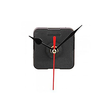 Механизм движения часы с черным час минут красный комплект вторая рука DIY Инструменты