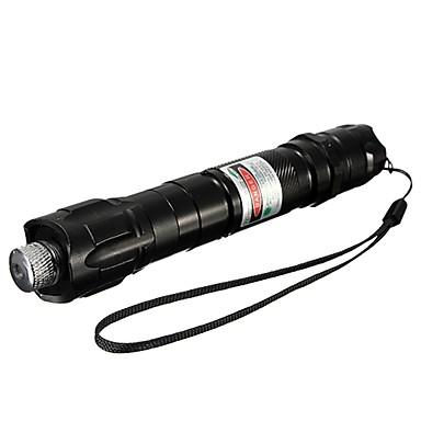 lt-532b Muti-imagine verde laser pointer (5mW, 532nm, 1x18650, negru)