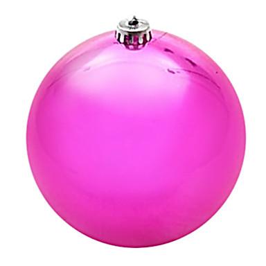 pomul de Crăciun decorare bile de galvanizare de plastic 20 * 20 * 20cm