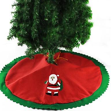 1set Santa Baum Röcke Weihnachten Neuartige Party, Urlaubsdekoration Feiertags-Verzierungen