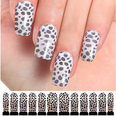 12 Nail Art autocolant Aplicația de transfer de apă Abstract machiaj cosmetice Nail Art Design