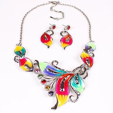 femei de moda Europa set bijuterii colorate (inclusiv coliere cercei)