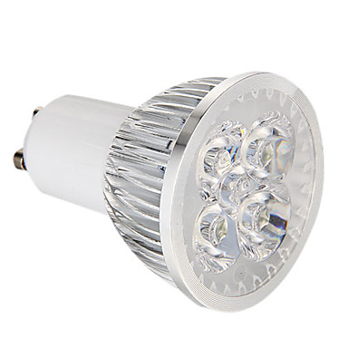 360 lm GU10 LED Spot Lampen 4 Leds Hochleistungs - LED Abblendbar Natürliches Weiß Wechselstrom 220-240V