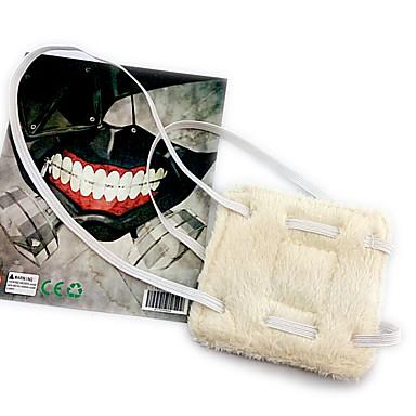 Mască Inspirat de Tokyo Ghoul Cosplay Anime Accesorii Cosplay Mască Lână polară Bărbați