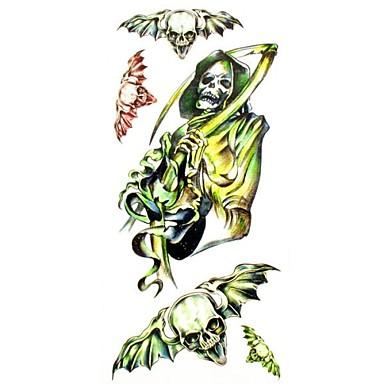 Altele Acțibilde de Tatuaj - Multicolor - Model - #(18.5*8.5) - Dame/Girl/Adult/Adolescent - Hârtie - Dame/Girl/Adult/Adolescent -