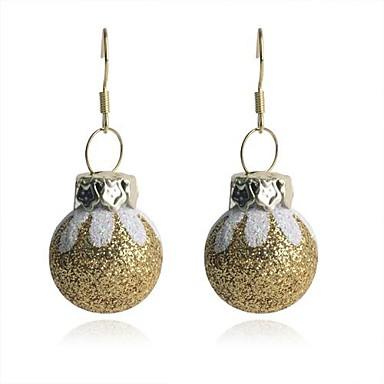 lureme моды блестящий порошок золотые покрашенные яйца сколы сплав падение серьги
