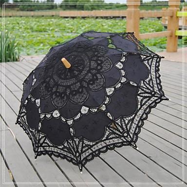 Spitze Hochzeit Alltag Maskerade Strand Regenschirm Regenschirme ca.78cm