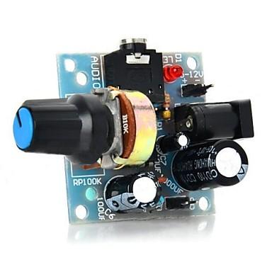 386 Mini-Audio-Verstärkermodul für Arduino-hellblau (5 ~ 12V)
