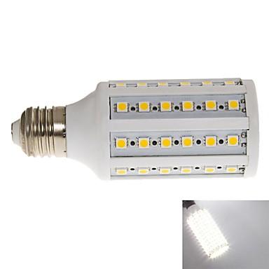 1000 E26/E27 Becuri LED Corn T 60 LED-uri SMD 2835 Alb Rece 6000~6500K AC 220-240V