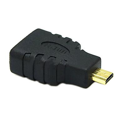 sensecheering 0.1m 0.328ft Micro-HDMI-Stecker auf Buchse HDMI v1.4 Anschluss HDMI