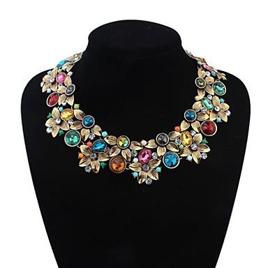 Pentru femei Floral Modă Bijuterii Statement European Coliere Aliaj Coliere .