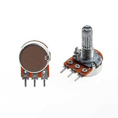 wh148 soort eenheid potentiometer B1K lange steel 20mm (5 stuks)