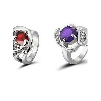 Dámské S kamínkama Slitina Kulatý Šperky Kostýmní šperky