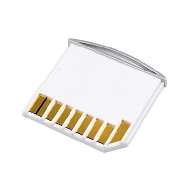 mikro sd tf til sd-kortet kit mini adapter for ekstra lagringsplass MacBook Air / pro / retina hvit