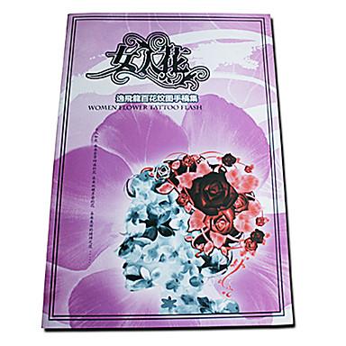 Flowers Tattoo Pattern Book