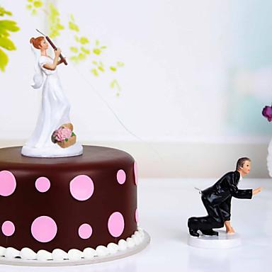 Decorações de Bolo Tema Las Vegas Férias Tema Clássico Casamento Material Resina Festa Festa / Noite com Sim