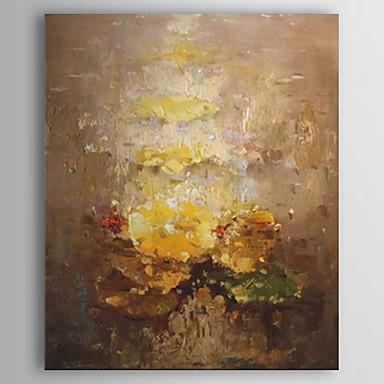 Pictat manual Abstract Vertical pânză Hang-pictate pictură în ulei Pagina de decorare Un Panou