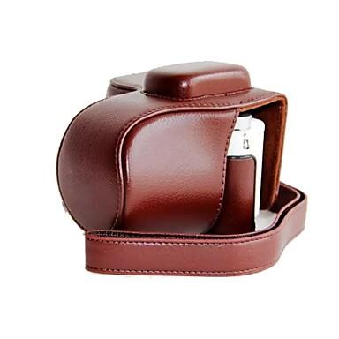 pajiatu® искусственная кожа личи зарядки зерна шаблон камера защитный чехол обложка мешок для Samsung NX3000 с 20-50 мм объективом