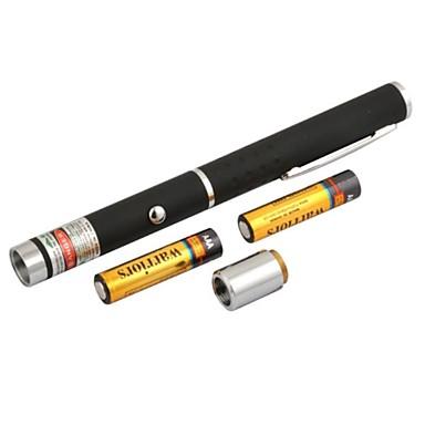 lt-8883 verstelbare brandende groene pen vorm laser pointer (5mw.532nm.2xaaa.black)