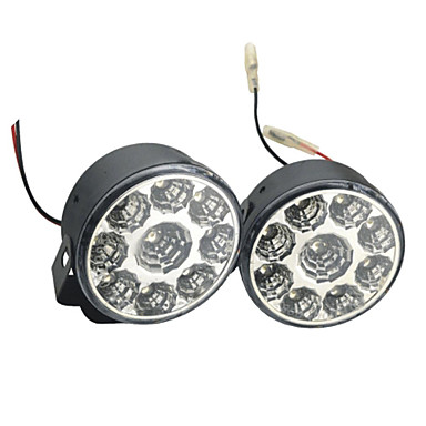 2pcs Auto Leuchtbirnen 4W SMD LED- 9 Tagfahrlicht