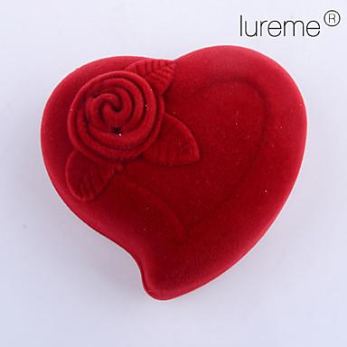 baratos Bijuteria de Mulher-Rose Caixas de Jóias - Na moda Vermelho 5.5 cm 4 cm 4 cm / Mulheres