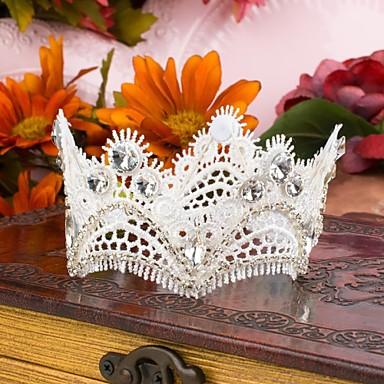 Γυναικείο Δαντέλα Στρας Headpiece-Γάμος Ειδική Περίσταση Κεφαλόδεσμοι