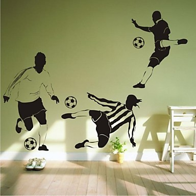 Words & Quotes Wall Stickers Plane Wall Stickers Decorative Wall Stickers, PVC Home Decoration Wall Decal