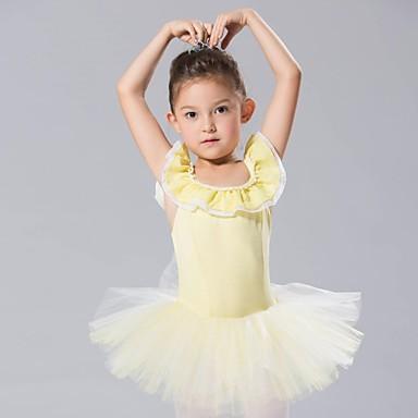 Ținute de Dans Copii Rochii & Fuste / Fuste de balet Spandex / Tulle Fără manșon / Balet / Performanță