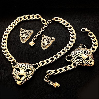 Jewelry Necklaces Earrings Bracelets & Bangles Jewelry set Wedding Party Daily Casual Sports Rhinestone Gold Plated Gold Wedding Gifts