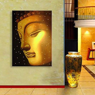 LED-es vászon dekor Vallás & Spiritualitás Egy elem Nyomtatás fali dekoráció lakberendezési