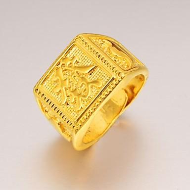 Herrn vergoldet Anderen Statement-Ring - Einzigartiges Design / Modisch Ring Für Hochzeit / Party / Alltag