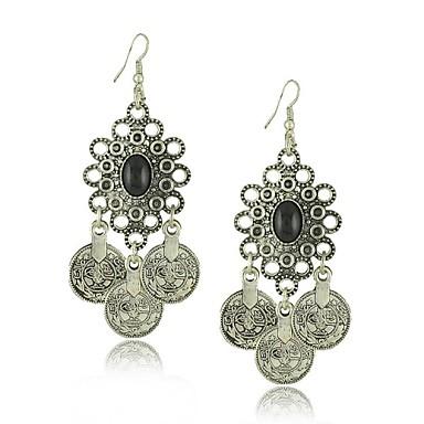 Damen Blume Ohrring - Modisch Silber Ohrringe Für Alltag