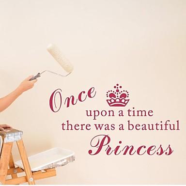 falimatrica fali matricák, lakberendezési hercegnő lány óvodai pvc falfestményt falimatrica
